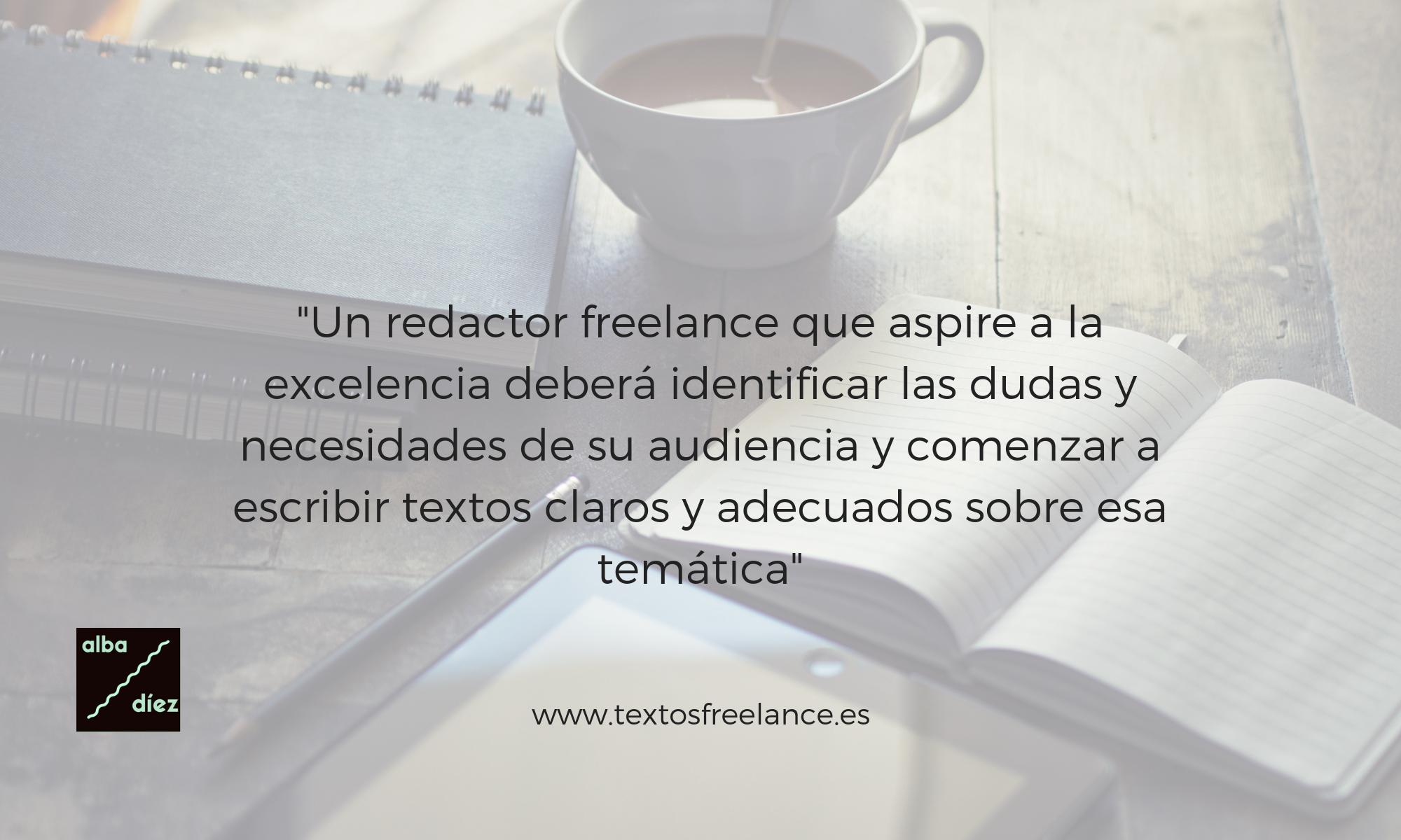 qué hace un redactor freelance